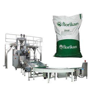Машина за паковање аутоматског паковања за млеко у праху у кесицама од 25кг од 25кг