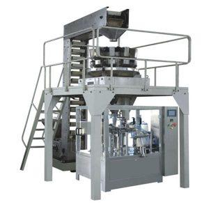 Аутоматизована гранулација са гранулом за пуњење и заптивање производне линије