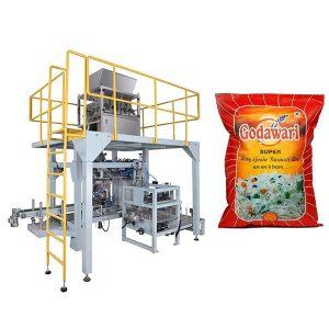 Биг Баг Гранулар Хеави Баг Пакирање машина од пиринча за 10кг-50