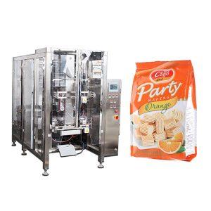Комплетна аутоматска машина за паковање хране за четвртасту печату