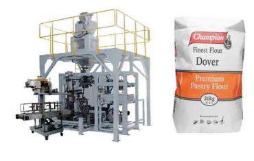 машина за паковање брашна за паковање брашна од 20кг